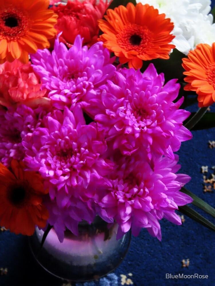 Lebendige rosa Blüten zum Muttertag von BlueMoonRose
