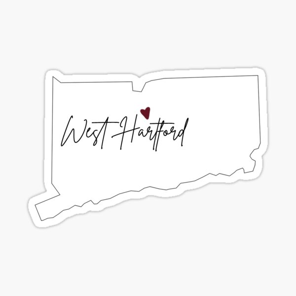 West Hartford CT Sticker