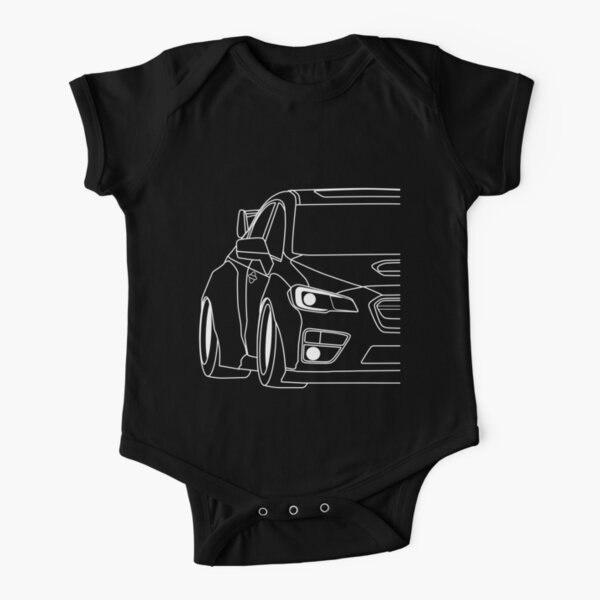 SUBARU WRX STI Short Sleeve Baby One-Piece