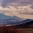Mountainscape - Eden, UT by Len Bomba