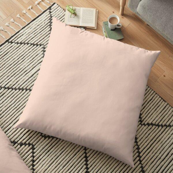 Creme de Peche 12-1110 TCX   Pantone   Color Trends   New York   Fall Winter 2019 2020   Solid Colors   Fashion Colors   Floor Pillow