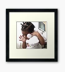 A Childs Secondary Refuge  Framed Print