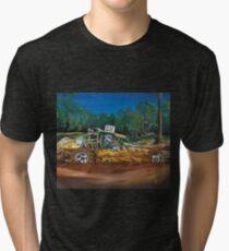 Mud Bashing Buggy Tri-blend T-Shirt