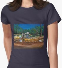 Mud Bashing Buggy Women's Fitted T-Shirt