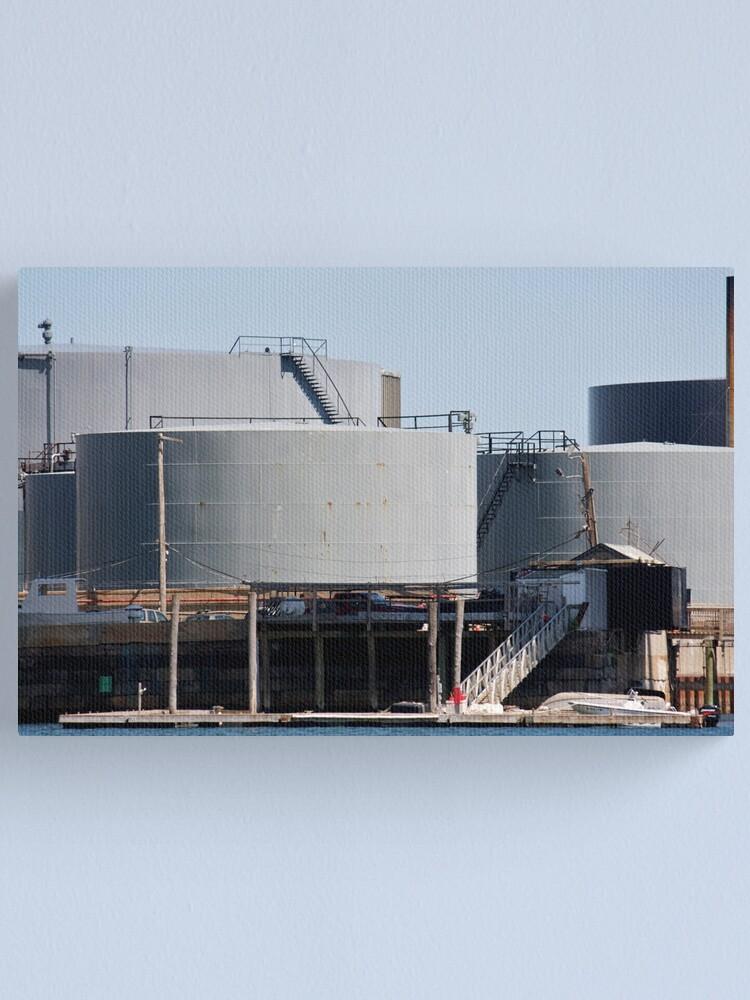 Alternate view of River Tanks Canvas Print