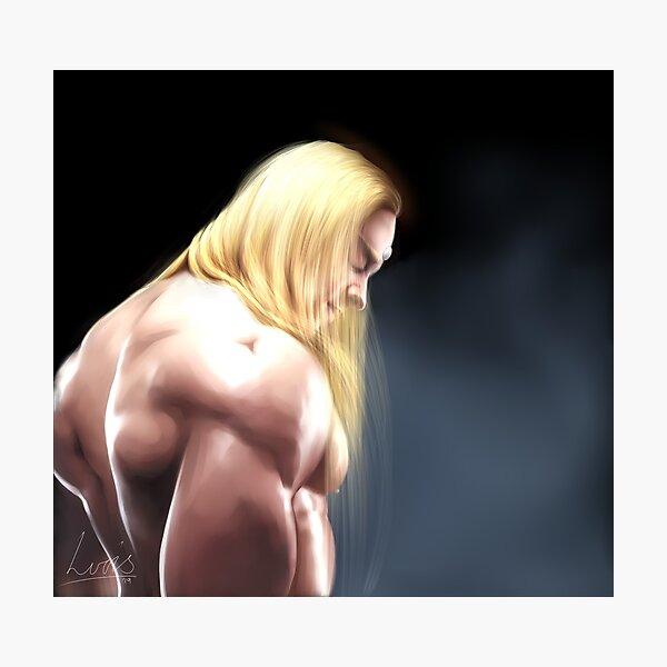 Zenos but he's shirtless Photographic Print