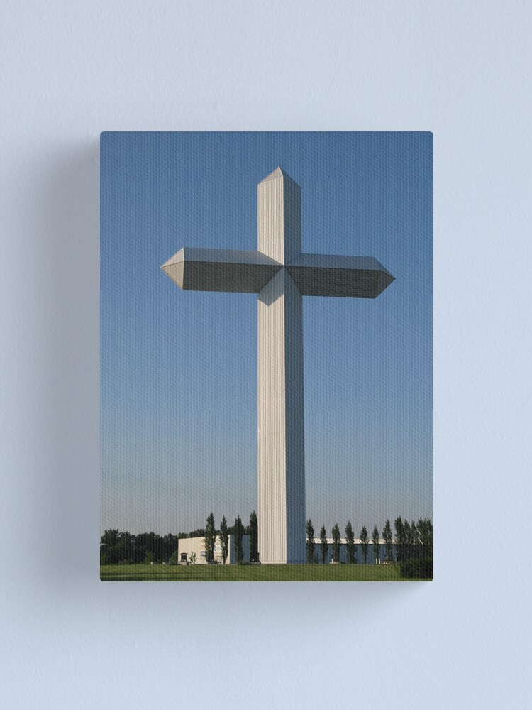 Alternate view of The Cross at the Crossroads (2) Canvas Print