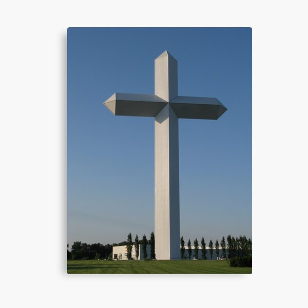 The Cross at the Crossroads (2) Canvas Print