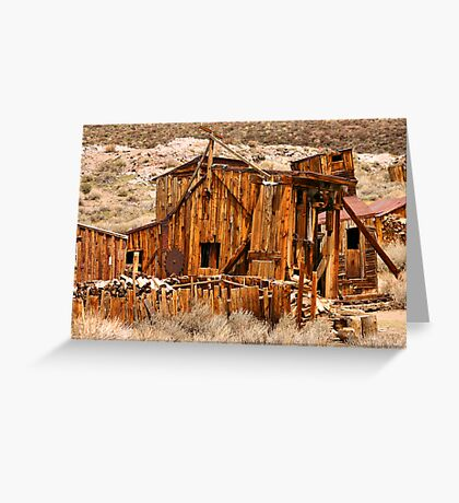Times Past Greeting Card
