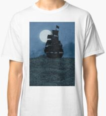 Sailing Under The Moon Classic T-Shirt