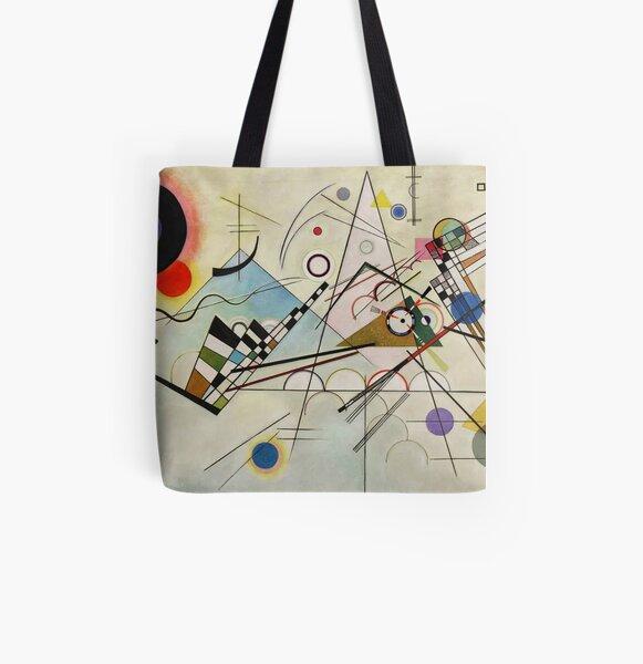 Composition 8 - Vasily Kandinsky Tote bag doublé