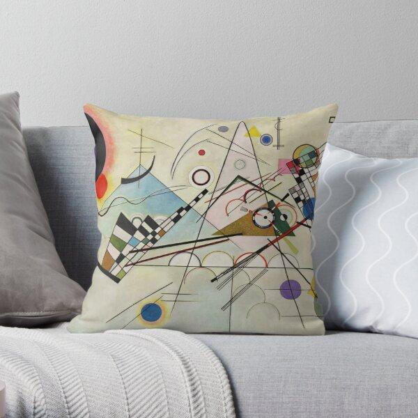 Composition 8 - Vasily Kandinsky Throw Pillow