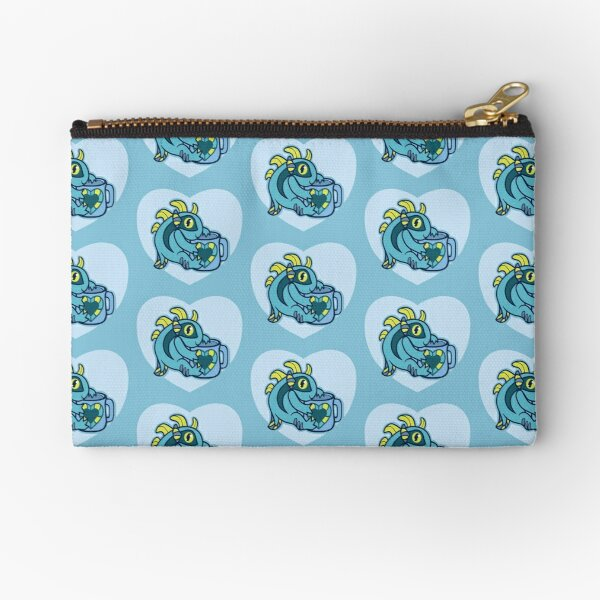 Cup of Blue Mmrrggll Zipper Pouch