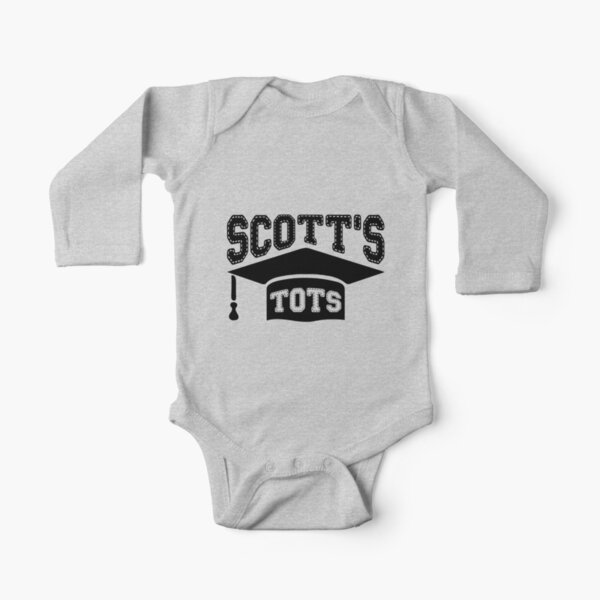 Scott's Tots - The Office Long Sleeve Baby One-Piece