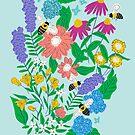 Bienen in meinem Garten von Jacqueline Hurd