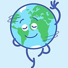 Nice planet Earth rotating graciously by Zoo-co