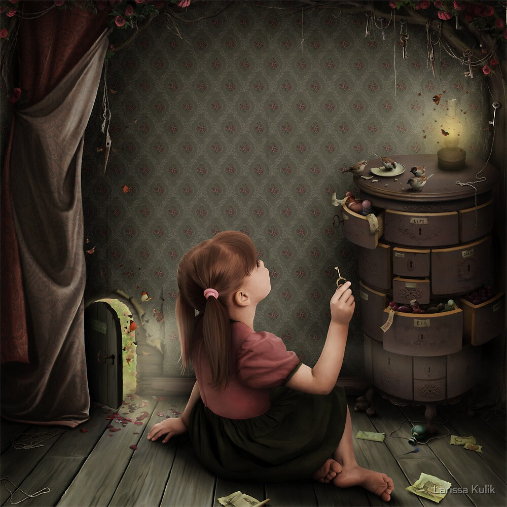 Big - Small..... by Larissa Kulik