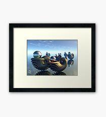 Pearl keepers -1 Framed Print