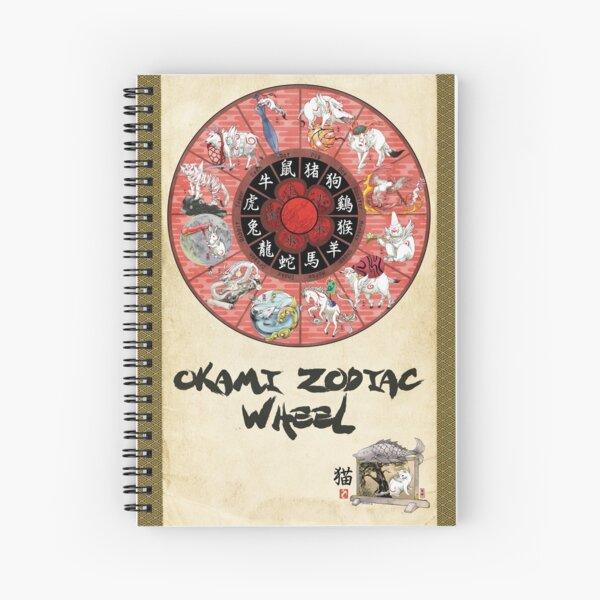 Okami Zodiac Wheel Cuaderno de espiral