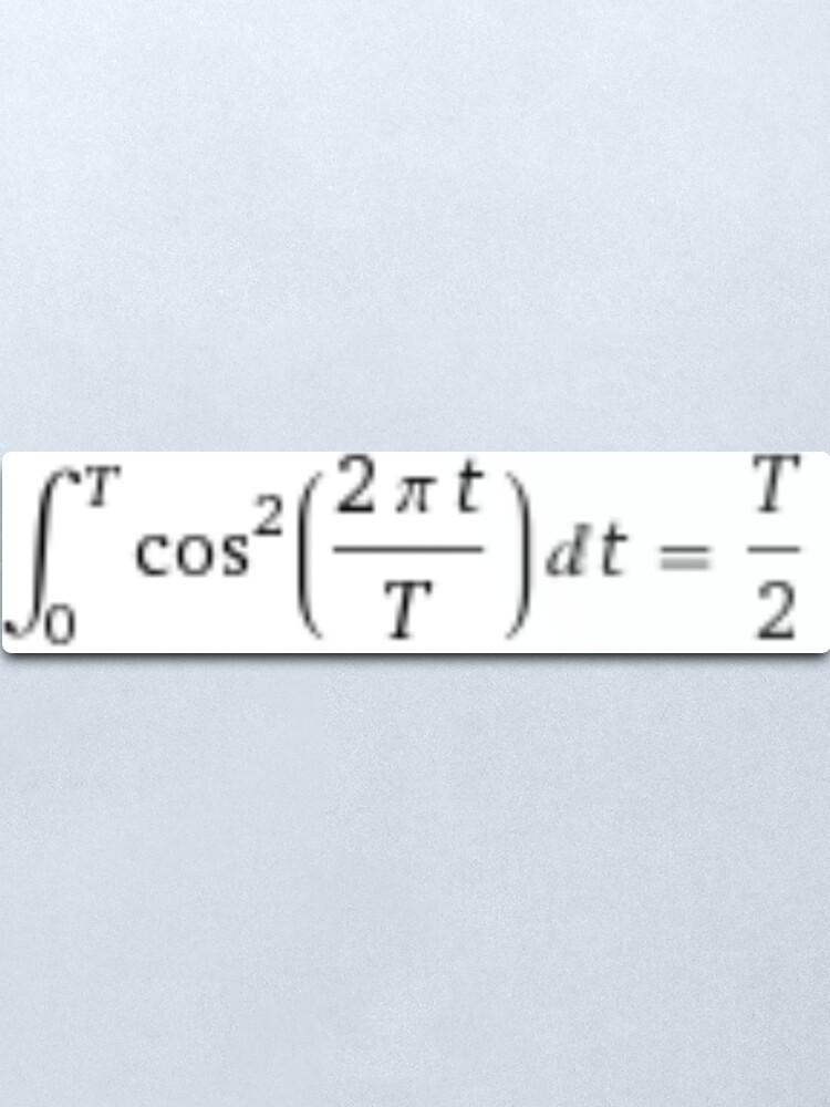 Alternate view of #Integral #Calculus #DefiniteIntegral #Function Metal Print