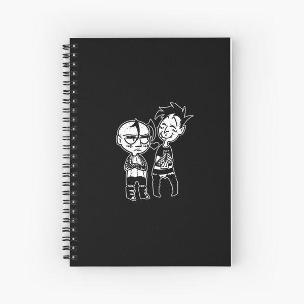 knee me Spiral Notebook