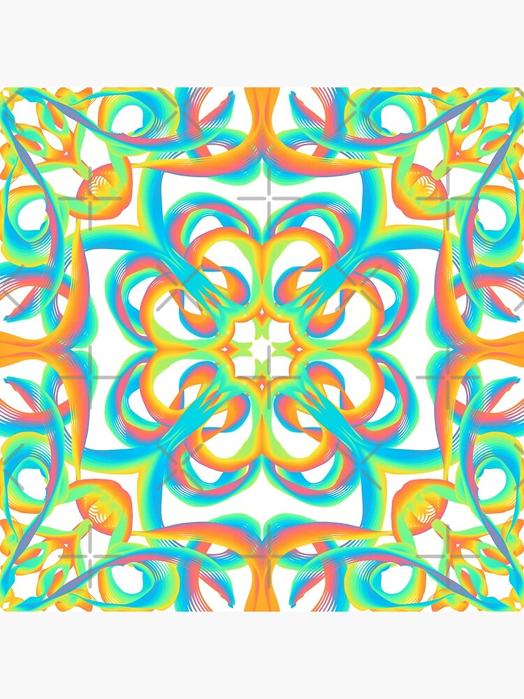 inspire 8 - rainbow flowers by nobelbunt