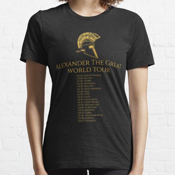 Alexander The Great World Tour Essential T-Shirt