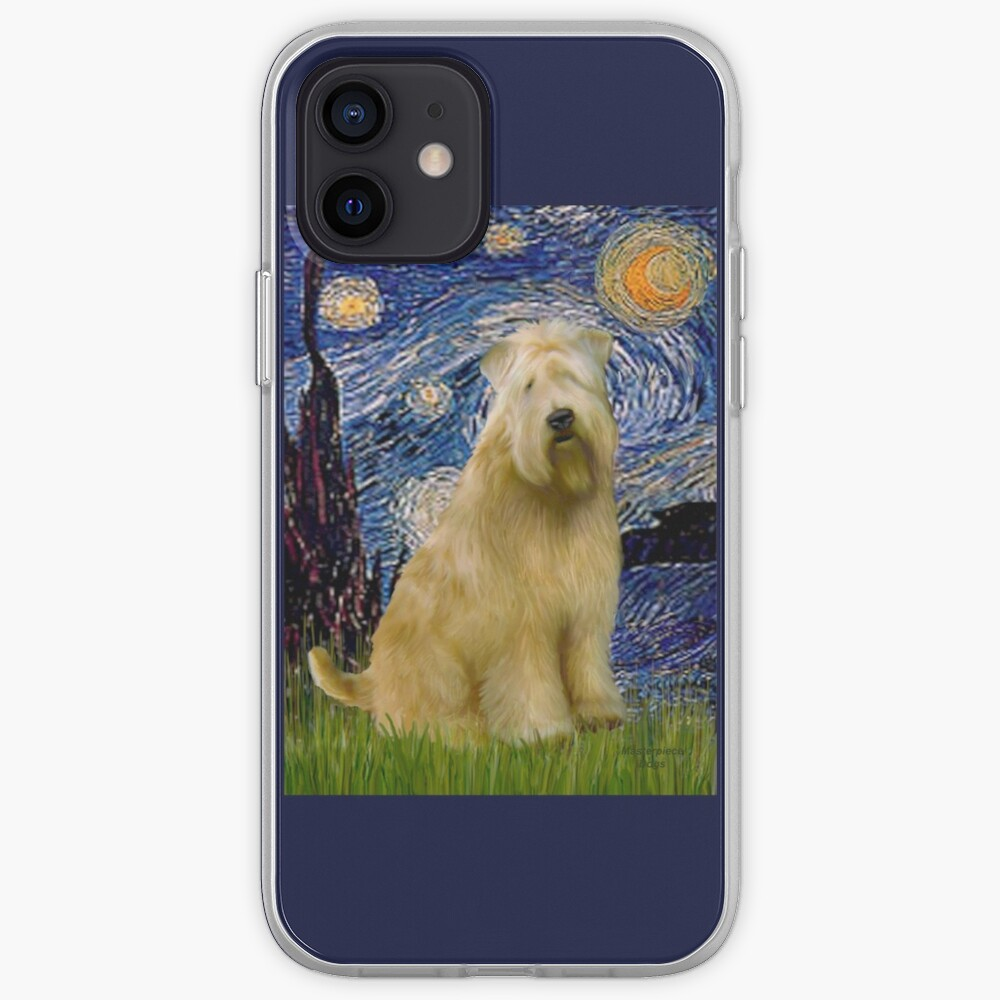 Starry Night -Soft Coated Wheaten Terrier iPhone Case & Cover
