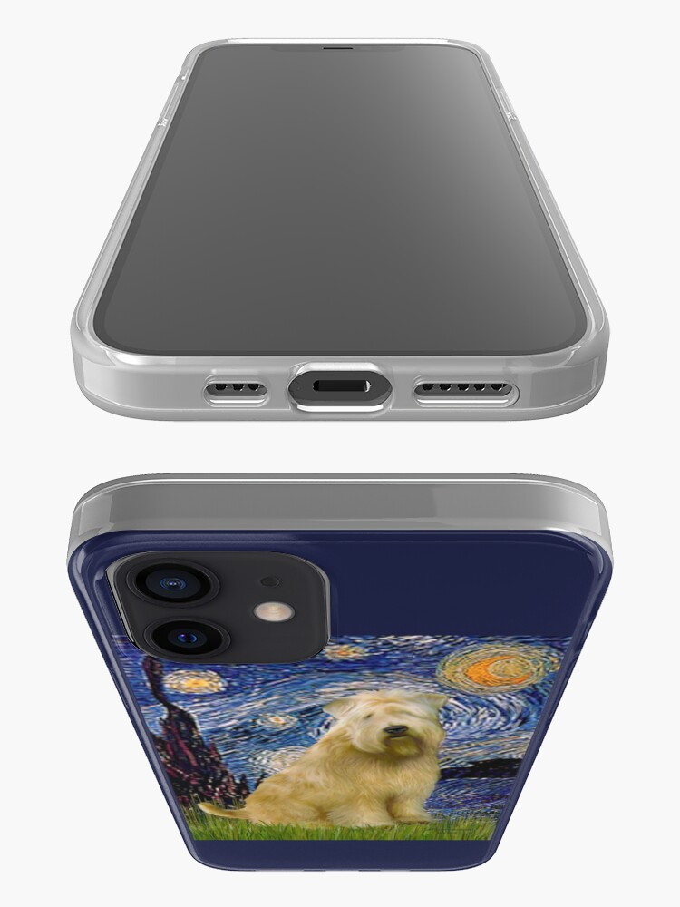 Alternate view of Starry Night -Soft Coated Wheaten Terrier iPhone Case & Cover
