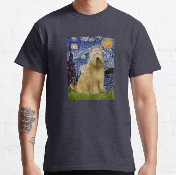 Starry Night -Soft Coated Wheaten Terrier Classic T-Shirt