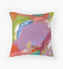 Polruan Harbour Throw Pillow