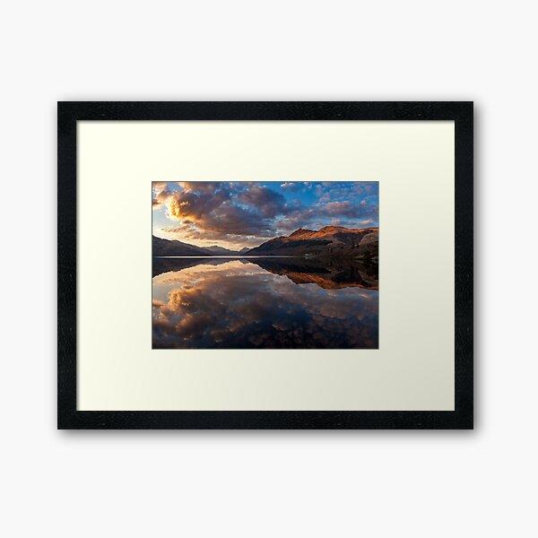 Lomond Last Light Framed Art Print