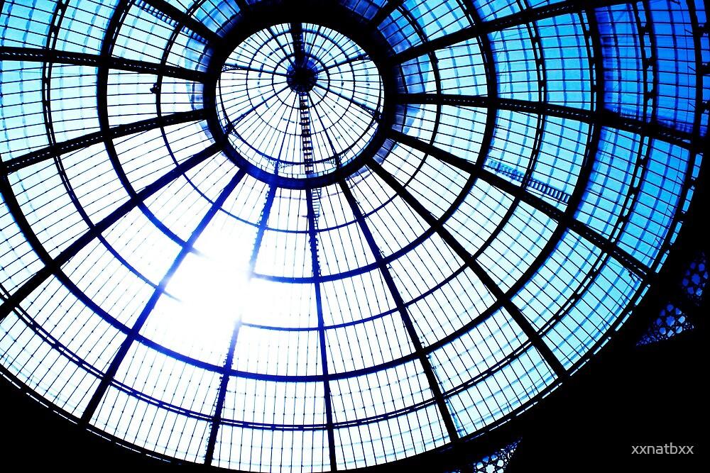 milan shopping centre roof by xxnatbxx