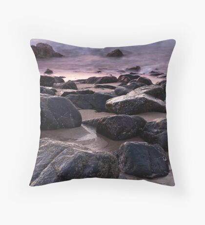 Lamberts Beach Throw Pillow