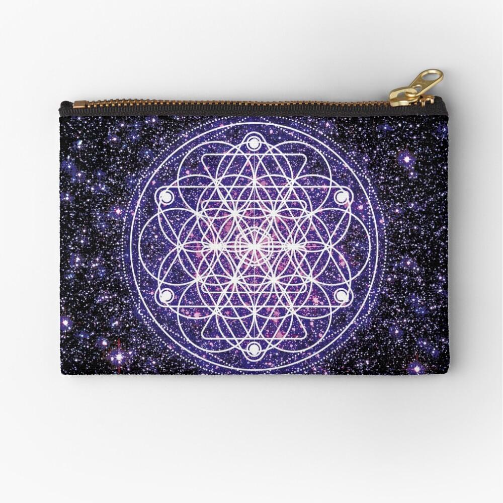 Sacred Geometry 3 Zipper Pouch
