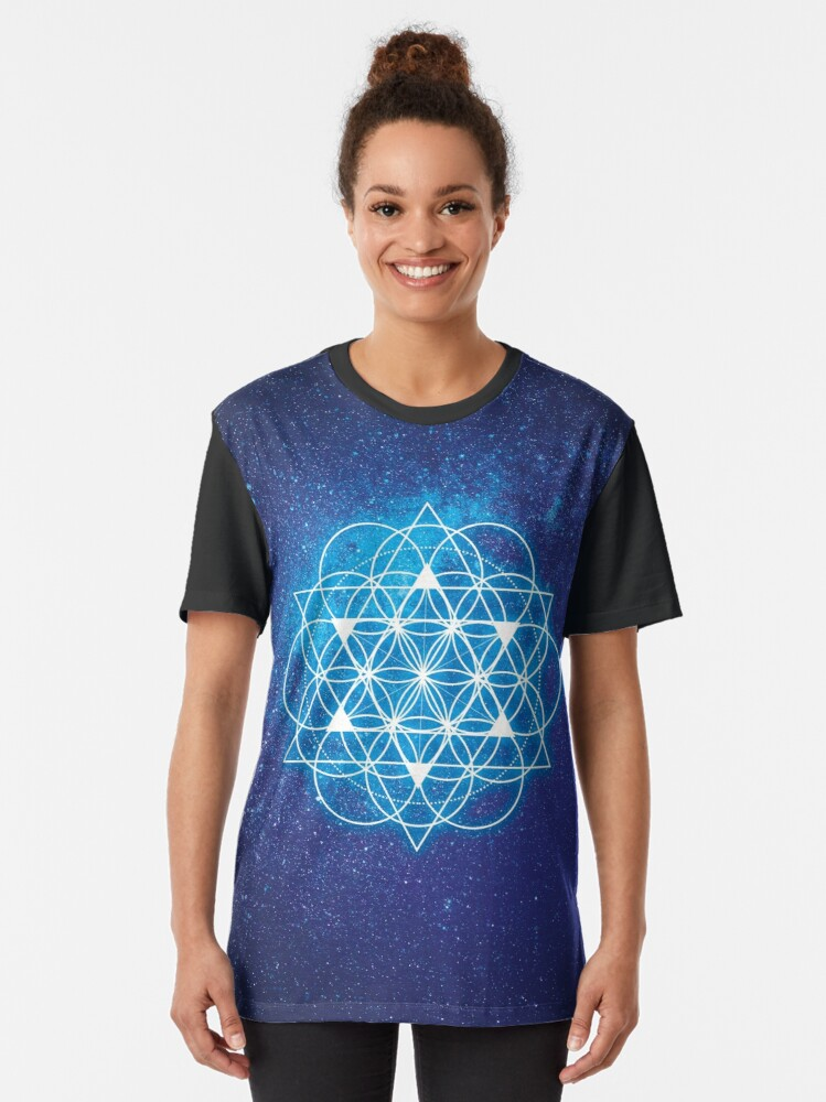 Alternate view of Sacred Geometry Graphic T-Shirt