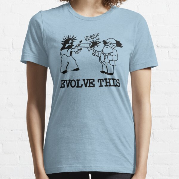 Jesus and Darwin - Evolve This Essential T-Shirt