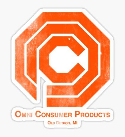 OCP Distressed Sticker