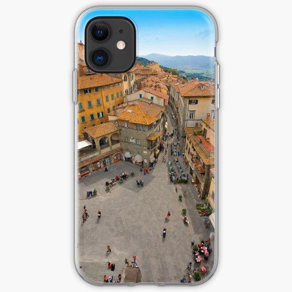 Cortona Tuscany Piazza iPhone Soft Case
