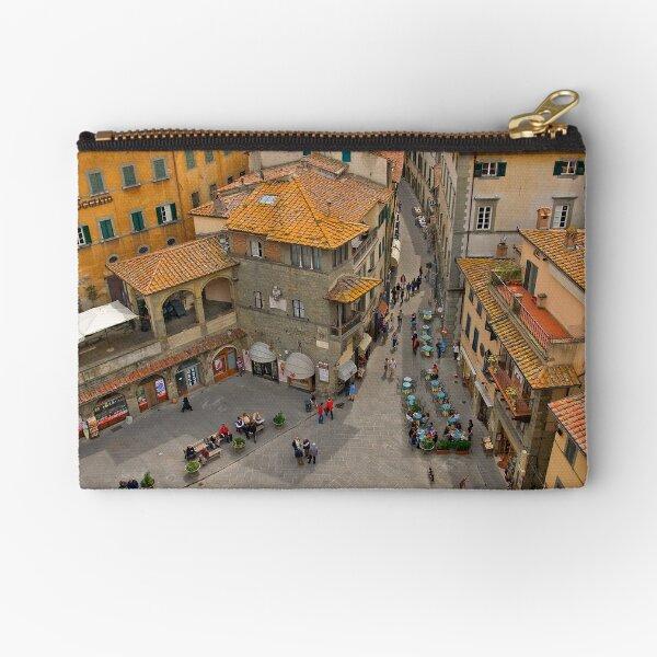 Cortona Tuscany Piazza Zipper Pouch
