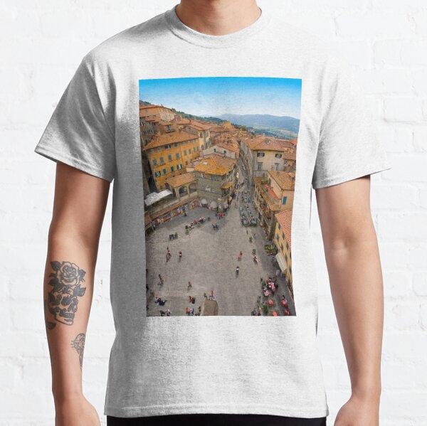 Cortona Tuscany Piazza Classic T-Shirt