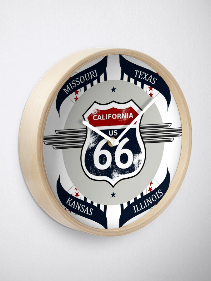 Alternate view of Route 66 my new version Clock