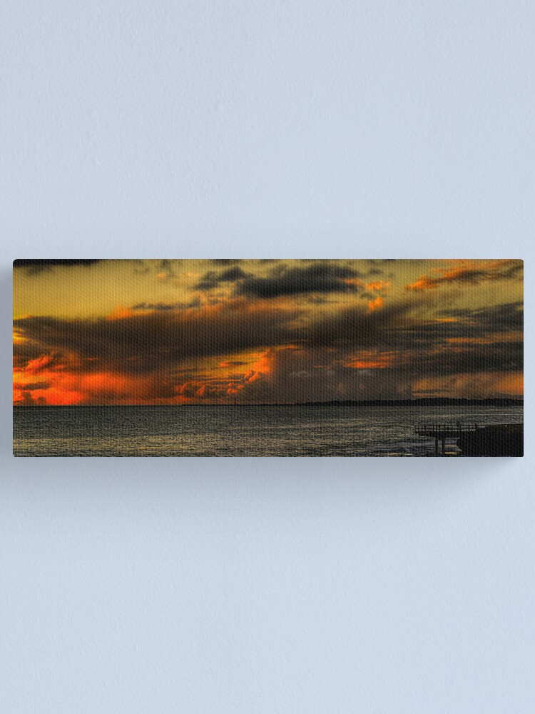 Alternate view of North Beach Jetty Canvas Print