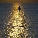 Sunset in the bay of the Golden Horn  by kalissa