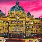 Flinders Street Station by Kim Donald