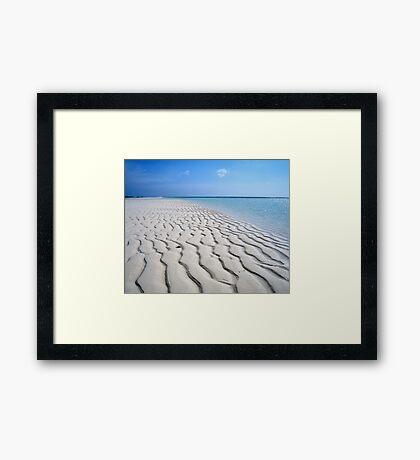 Endless Maldivian Beach Framed Print