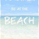 Ich würde eher bei The Beach Art / Painting sein von Clare Walker