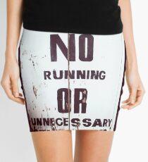 Behave Mini Skirt