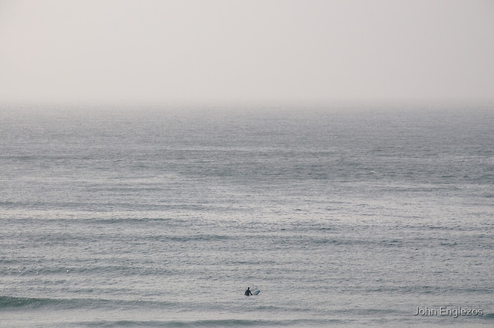 A Man and The Ocean by John Englezos