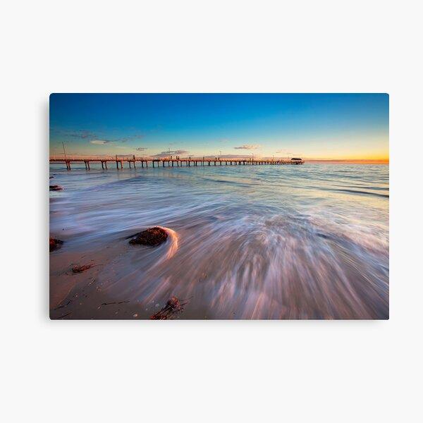 Henley Beach Motion Canvas Print